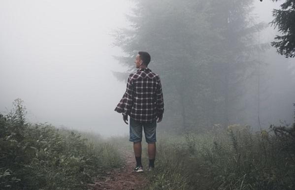 五里霧中の意味01